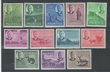 George VI (1936-1952) Postage Mauritian Stamps