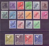 Berlin 1948 - Schwarzaufdruck MiNr.1/20 postfr.** geprüft- Michel 380,00 € (832)