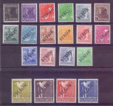 Berlin 1948 - Schwarzaufdruck MiNr.1/20 postfrisch**  Michel 380,00 € (832)