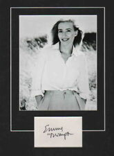 EMMA THOMPSON-HARRY POTTER-LOVE ACTUALLY-SIGNED CARD & PICTURE DISPLAY-AFTAL/UAC