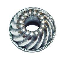 Pre-Owned Genuine TROLLBEADS Sterling Silver 'Cake Form' Bead - 11275