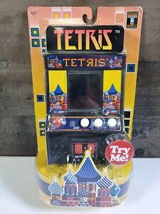 Tetris Mini Arcade Game Basic Fun! New Sealed Hand Held Puzzle Portable