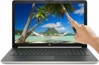 NEW HP 15.6 HD TOUCHSCREEN Intel i7-8550U 4GHz 512GB SSD 12GB RAM Win10 Silver