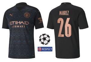Trikot Puma Manchester City 2020-2021 Away - Mahrez 26 I Champions League