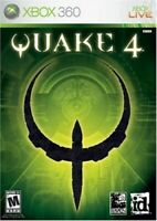 XBOX 360 QUAKE 4 STRATEGIC SHOOTER GAME MULTIPLAYER NEVER OPENED SEALED