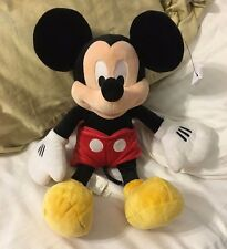 """Disney Store 18"""" Mickey Mouse Stuffed Toy"""