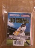 Sealed Oddball Baseball Sports Card Lot Pack Of 30 Cards