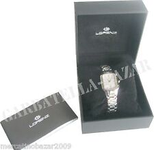 LORENZ Montenapoleone 26086 - SWISS MADE - STAINLESS Water resistant 5 atm