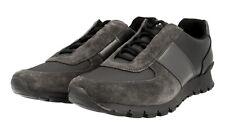 LUSSO PRADA MATCHRACE Sneaker Scarpe 4e2923 asfalto NUOVO NEW 8,5 42,5 43