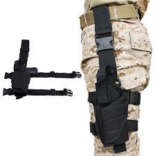 Left Tactical Thigh Drop Leg Pistol/Gun Holster for Glock Series M1911