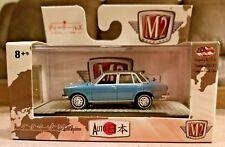 M2 Machines 1969 Nissan Bluebird 1600 SSS Auto-Japan 1:64 Blue Diecast Car JPN01