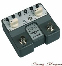Mooer Twin ShimVerb Pro Digital Reverb Effects Pedal, MTWINRV1. shim verb