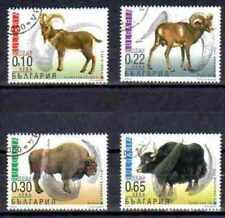 Bulgarie 2000 Faune sauvage (61) Yvert n° 3881 à 3884 oblitéré used