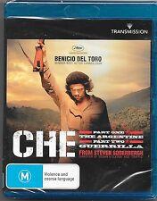 Che (Blu-ray, 2012)Part 1 & 2 New Region B Free Post