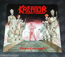 Kreator 'Terrible Certainty' 1st Press West German 87 Noise LP Vinyl Record Rare