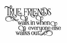 FRIENDS  VINYL DECAL STICKER SUITABLE FOR FRAMES WOOD AND MORE