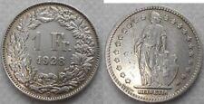 Schweiz 1 Franken 1928 AG