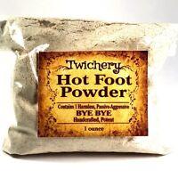 HOT FOOT POWDER, Hoodoo, Wicca, Pagan, Banish, Get Rid of People, Go Away Powder