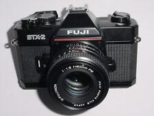 FUJI STX-2 35mm Film SLR Manual Camera with X-FUJINON 50mm F/1.9 FM Lens * EX++