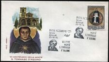 1974 - San Tommaso d'Aquino - n.1273 - Busta FDC