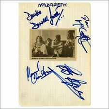 Nazareth 1970s Autographs (Germany)