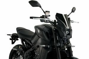 Puig Black New Generation Sport Screen Yamaha MT09 / SP 2021 20644N