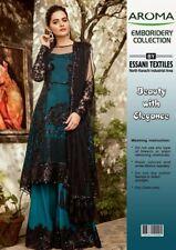 Pakistan indian 2019 Latest Wedding Embroidery Collection Shalwar Kameez Suit 29