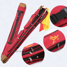 Double Layer Tai chi Sword Shaolin Broadsword Carrying Case High Quality Durable