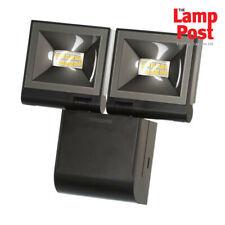 Timeguard LED200FLBE 2x 10W LED Compact Floodlight Twin Flood Light - Black