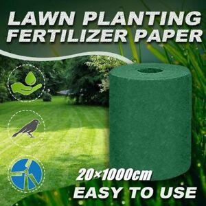 20×1000cm Grass Seed Mat Starter Gardening Grass Carpet Mat Garden Supplies Lawn