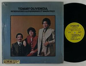 "Tommy Olivencia ""Lalo Rodriguez & Simon Perez"" Latin Salsa LP Inca Mexico"
