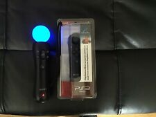 Sony PlayStation 3 Move Motion Controller W/  New Sealed Navigation Controller.