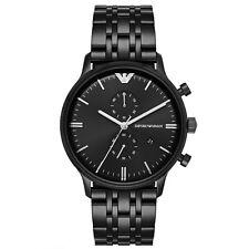 Nuevo EMPORIO ARMANI reloj con cronógrafo para hombre Retro GIANNI-AR1934-RRP £ 399