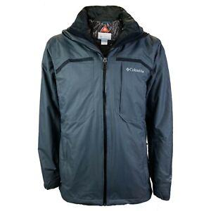 Columbia Men's Nordic Point II Interchange 3-in-1 Jacket Grey, Small 1661021055