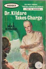 Max Brand X 3: Dr Kildare Takes Charge, Crisis & Secrets Of.... (PB, 1962) #KAE
