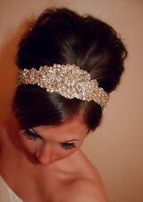Cerchietto DA SPOSA, Gatsby Art Deco Cerchietto, diadema, capelli da sposa Accessori, Strass
