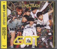 GOT7: Love Train (2015) Japan  / CD TAIWAN