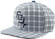 lucky 13 fishing cap flat brim hat blue steel small medium MSRP $22 fishing bass
