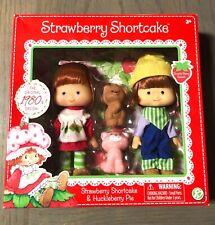 Strawberry Shortcake & Huckleberry Pie