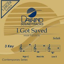 Selah - I Got Saved -  Accompaniment CD NEW