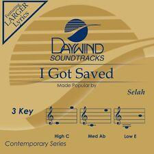Selah - I Got Saved -  Accompaniment/Performance Track – New