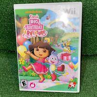 Dora the Explorer: Dora's Big Birthday Adventure - Nintendo Wii Video Game