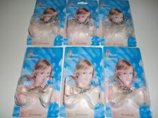 3 pairs (6 STRAPS) CLEAR Bras Straps invisible transparent ADJUSTABLE One size