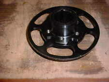 SUPERCHARGER CRANK HUB & DEGREE RING FOR BBC BIG BLOCK CHEVY 427 BLOWER PULLEY