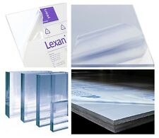 "40mil Polycarbonate Lexan Clear Plastic Sheet 0.040"" x 48"" x 96"" Vacuum-Forming"