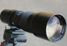 400 mm F/6.3 T2 mount lens adapter CANON NIKON PENTAX SONY PANASONIC M43 MFT Micro 4/3