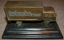 BADCOCK Furniture 100 Year Stamp 2004 Seal Press Truck Rare Advertising Novelty
