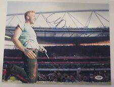 CHRIS MARTIN (Coldplay) Signed Concert 11x14 PHOTO w/ PSA COA