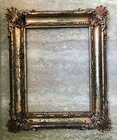 Vintage Ornate Faux Gold Antique Frame Hollywood Regency Ornate Syroco Homco