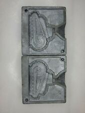 Old Lead Cast Tank Mold Dime Store Soldier War Toy